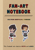 FAN-ART NOTEBOOK