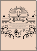 Oneshotモチーフ A4クリアファイル