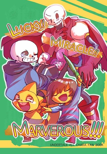 LUCKY!MIRACLE!!MARVELOUS!!!