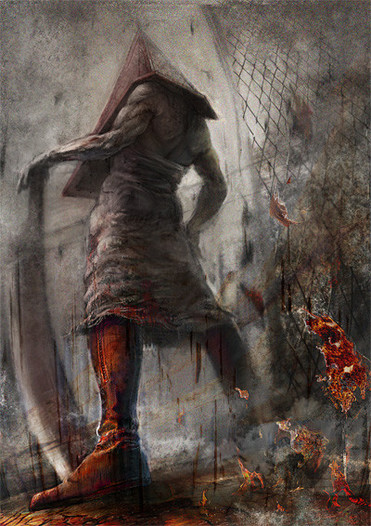 【SILLENT HILL2】Pyramid Head poster