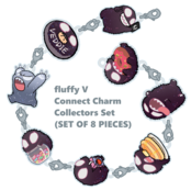 FLUFFY V Connect Charm : Collectors Set