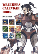 WRECKERS CALENDAR BOOK