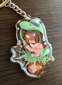 Leaf Clair Double-Sided Charm