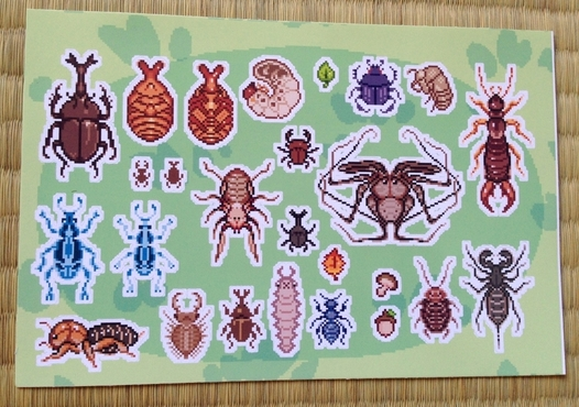 Bug Buddies Sticker Sheet
