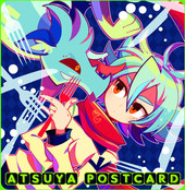 ATSUYA POSTCARD SET