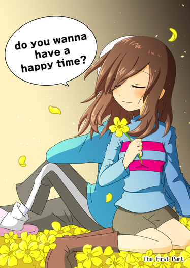 do you wanna have a happy time? 前編