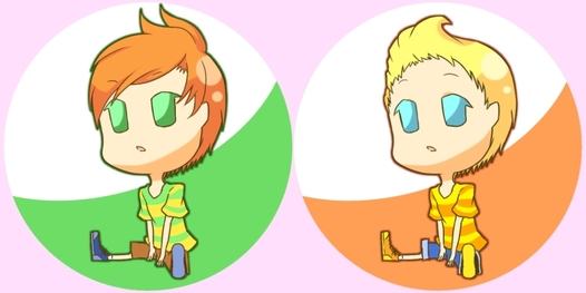 MOTHER3 双子缶バッジセット