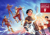 2014-2015 Fan Art of SHAZAM! and the other Heroes