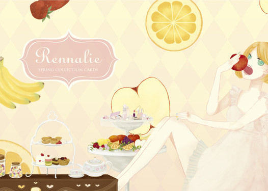 Rennalie spring collection cards