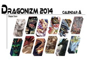 Dragonizm 2014 Calendar A ~Dragon Faces~