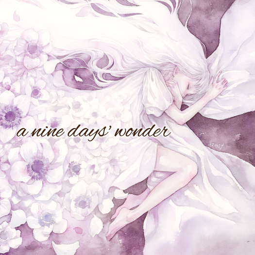 a nine days' wonder