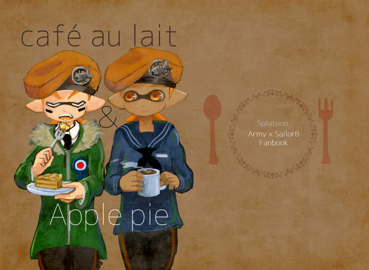 cafe au lait&ApplePie