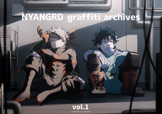 NYANGRD graffiti archives vol.1