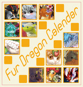 Fur Dragon Calendar