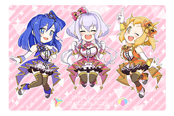 THE ZESSHOU MASTER SYMPHOGEAR GIRLS ポストカード