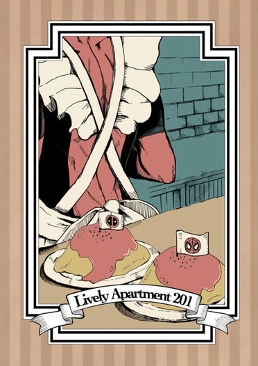 Lively Apartment 201
