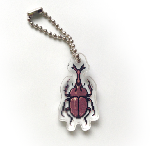 Kabutomushi Single-Sided Charm