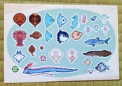 Ocean Companions Sticker Sheet
